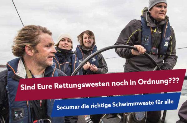 """ecumar Rettungswesten werden in höchster Qualität in Deutschland hergestellt. Hier wird der Begriff """"made in Germany"""" noch gelebt. Einen Tragekomfort und eine Verarbeitung der Spitzenklasse."""