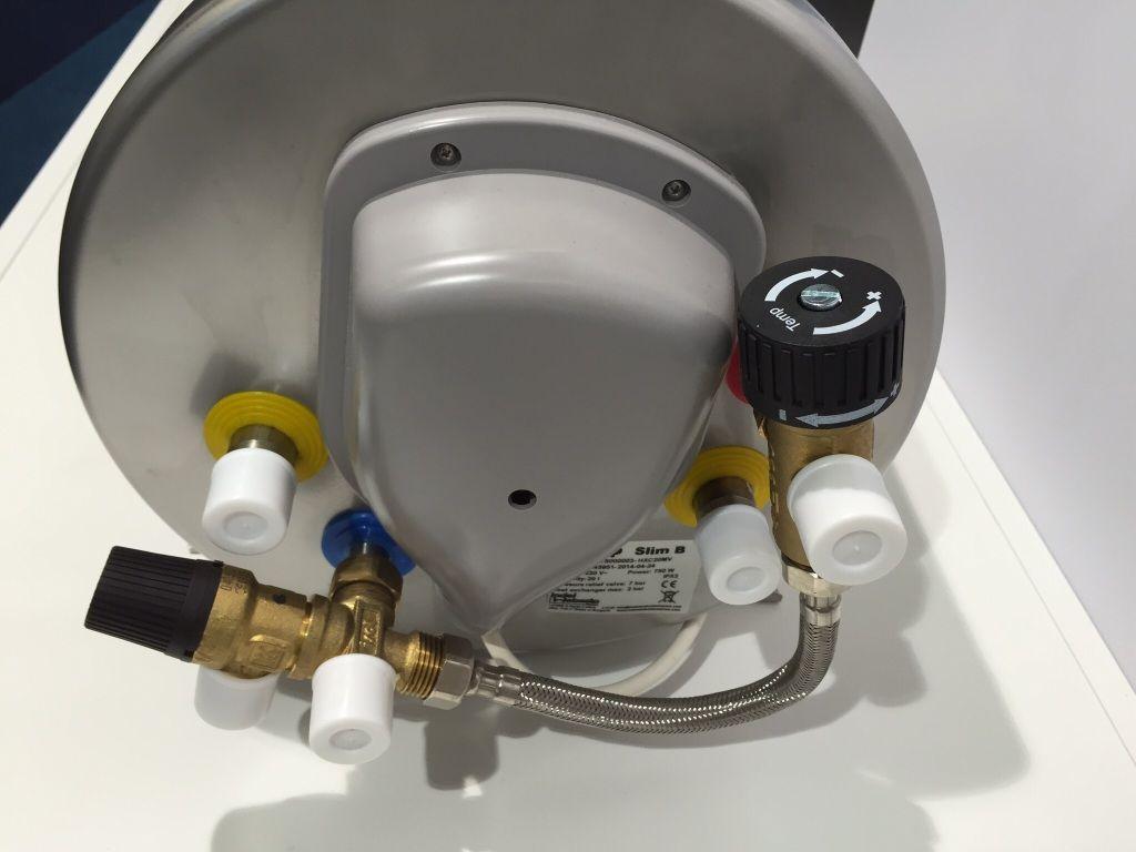 isotherm Isotemp Slim 15 Warmwasserboiler incl Mischventil
