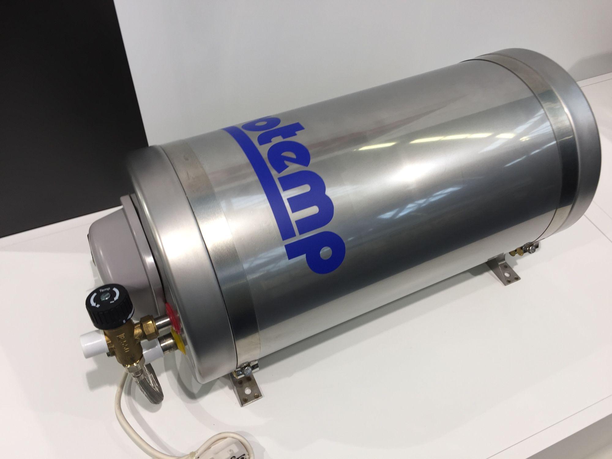 isotherm Isotemp Slim 20 Warmwasserboiler inkl. Mischventil