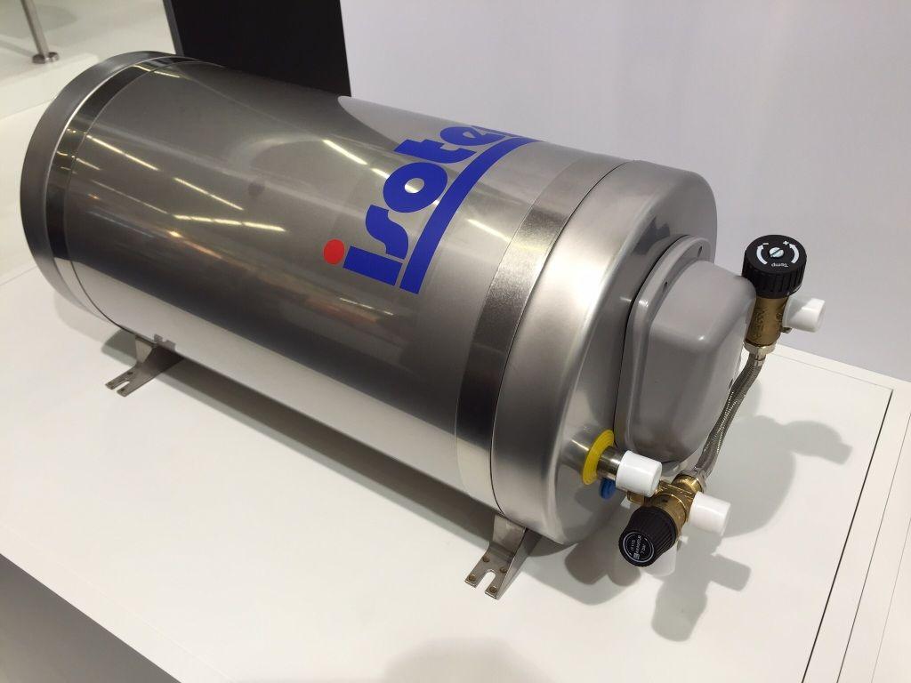 isotherm Isotemp Slim 25 Warmwasserboiler incl Mischventil