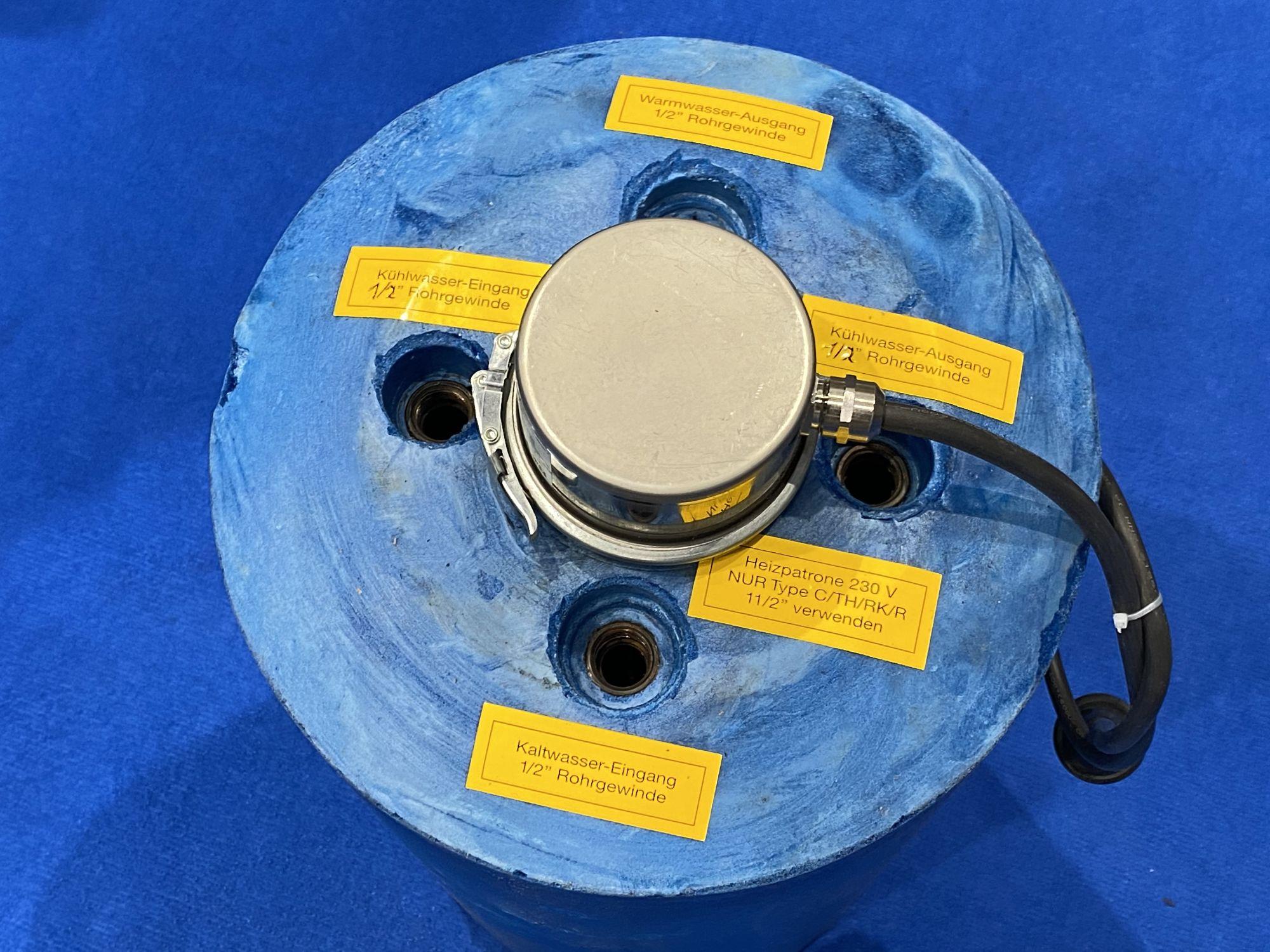 Rheinstrom HZK 140 Kupfer Warmwasserboiler inkl. Mischventil