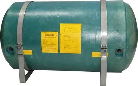 Rheinstrom HZK 75 Kupfer Warmwasserboiler inkl. Mischventil