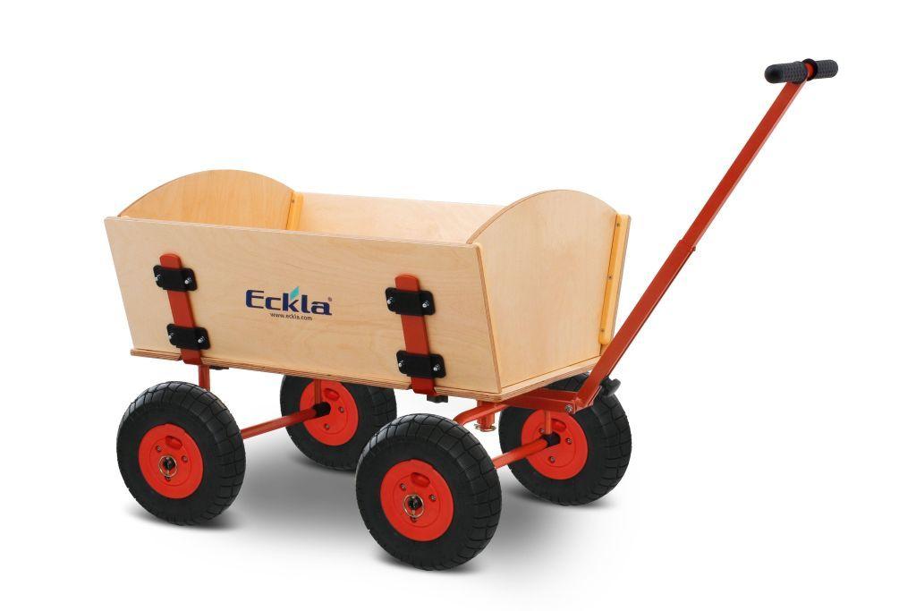 Eckla Trak Easy Trailer Bollerwagen mit Pannensicheren Reifen