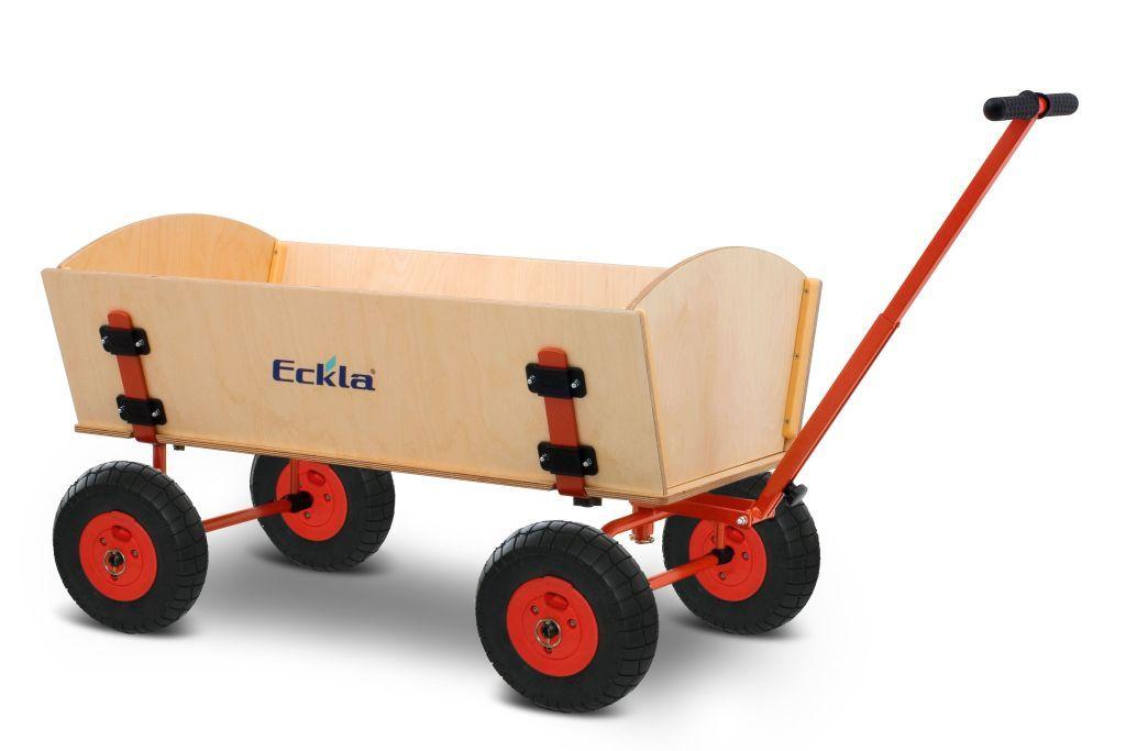 Eckla Trak XXL Bollerwagen mit Lufträdern