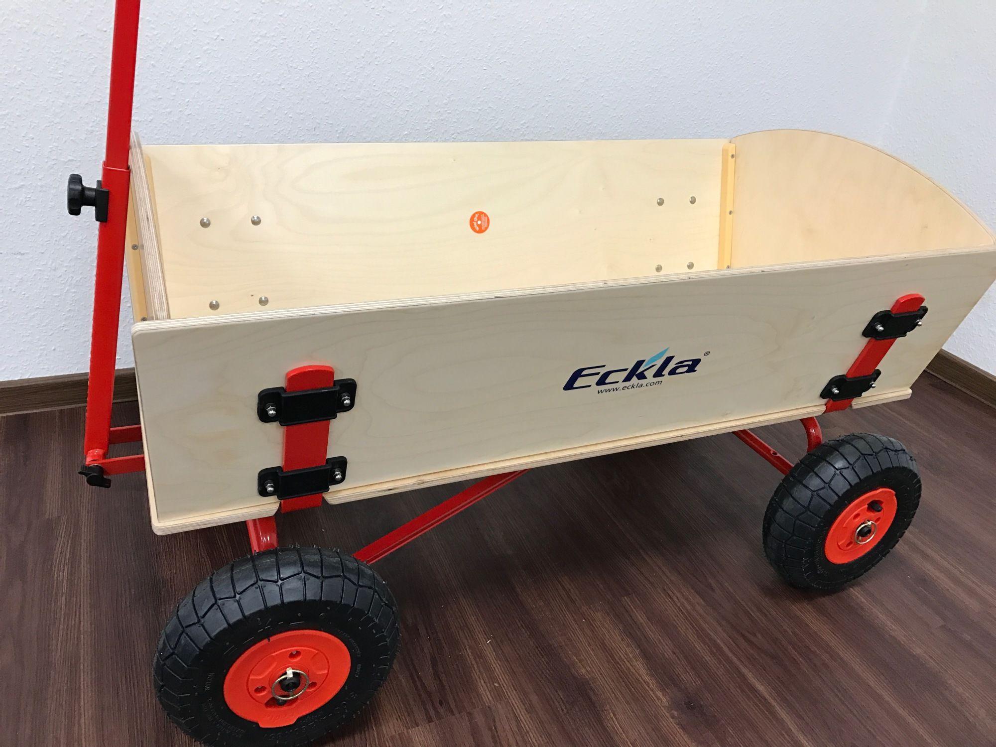 Eckla Trak Long Bollerwagen mit pannensicheren Reifen
