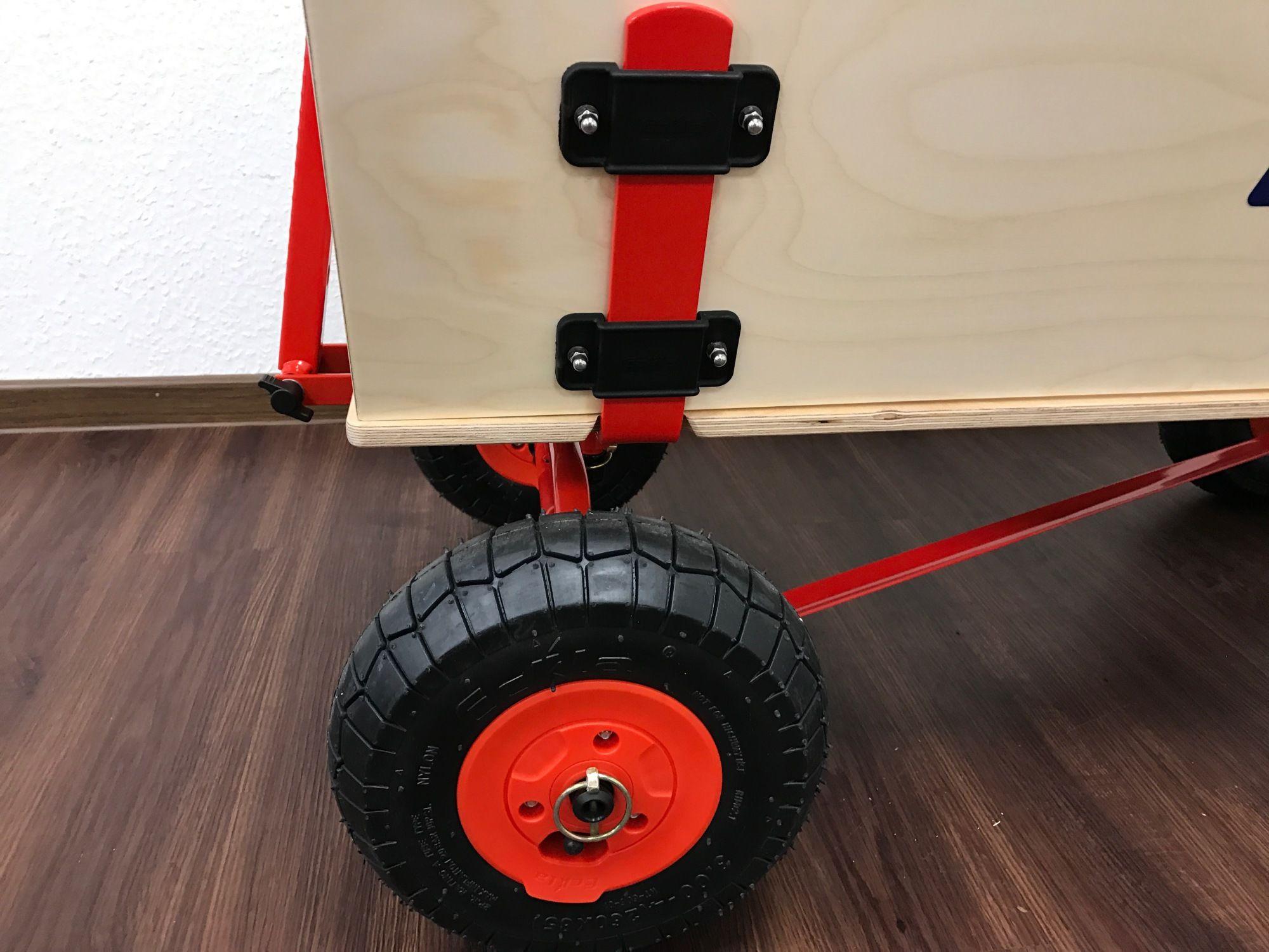 Eckla Trak Long Fun Bollerwagen mit pannensicheren Reifen