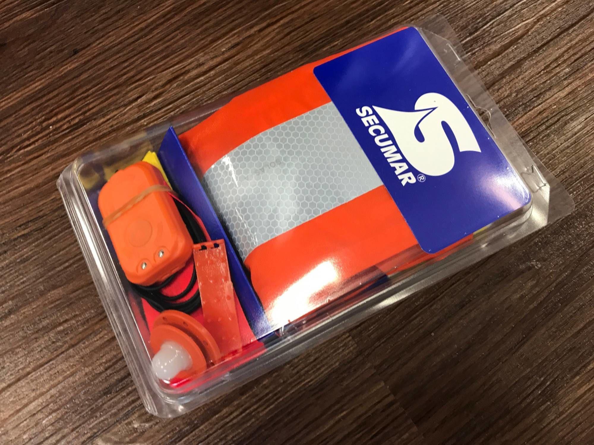 Secumar Aufrüstset für Ultra 170 (Spraycap und Notlicht)