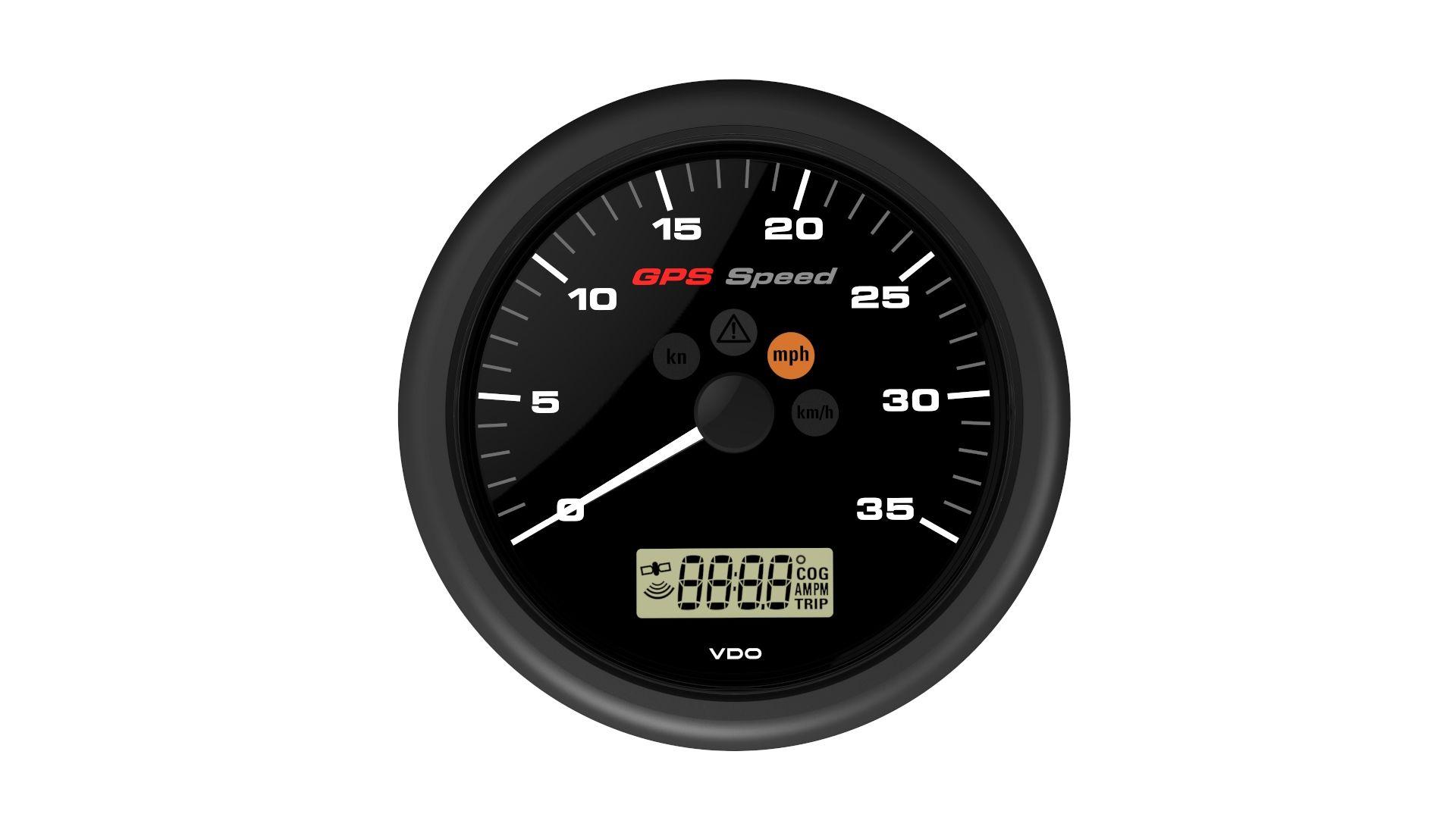 VDO GPS Speedometer Geschwindigkeitsanzeige
