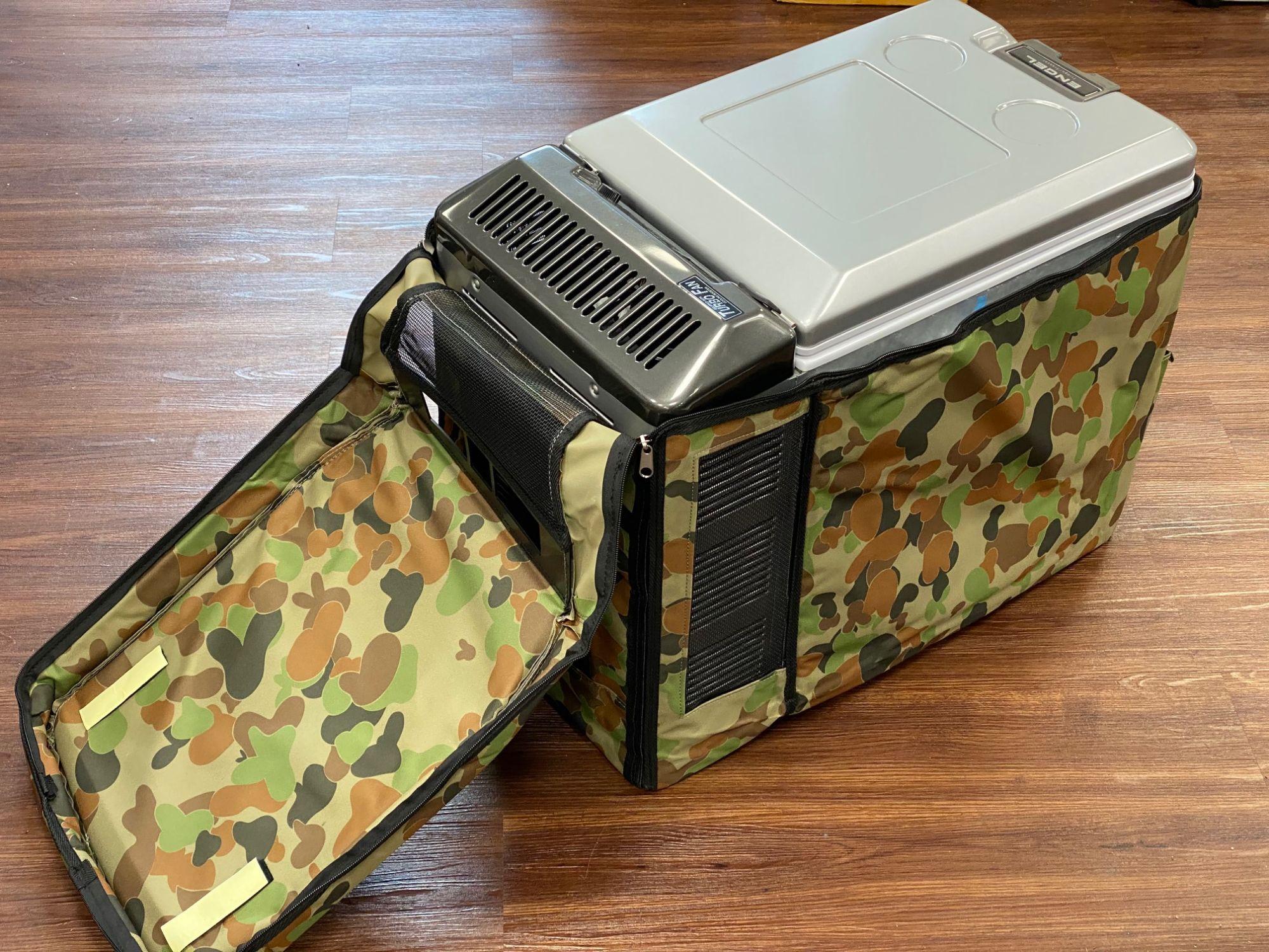 Engel Kühlbox Isolier und Schutzhülle Camoflage für MT 45 F / FS / GP