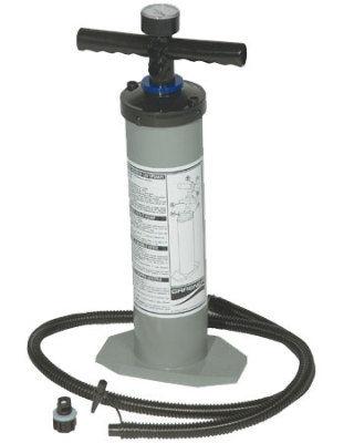 Grabner Doppelhub Luftpumpe mit Manometer