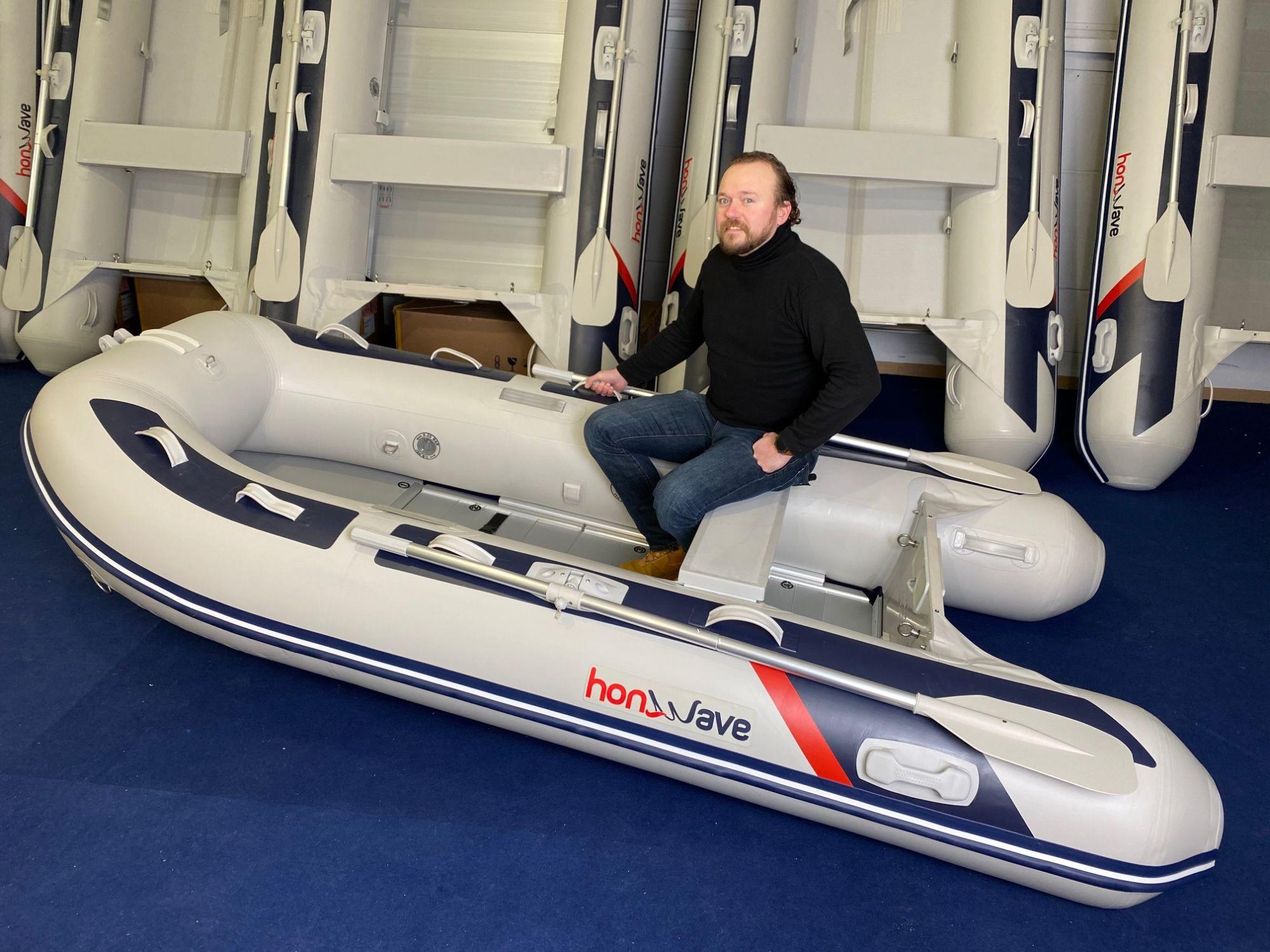 Honda Honwave T30 AE3 Schlauchboot Alu-Boden Mod.2021