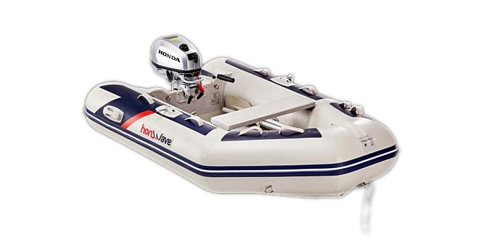 Honda Honwave T24 IE3 Schlauchboot Hochdruck-Boden Mod.2021