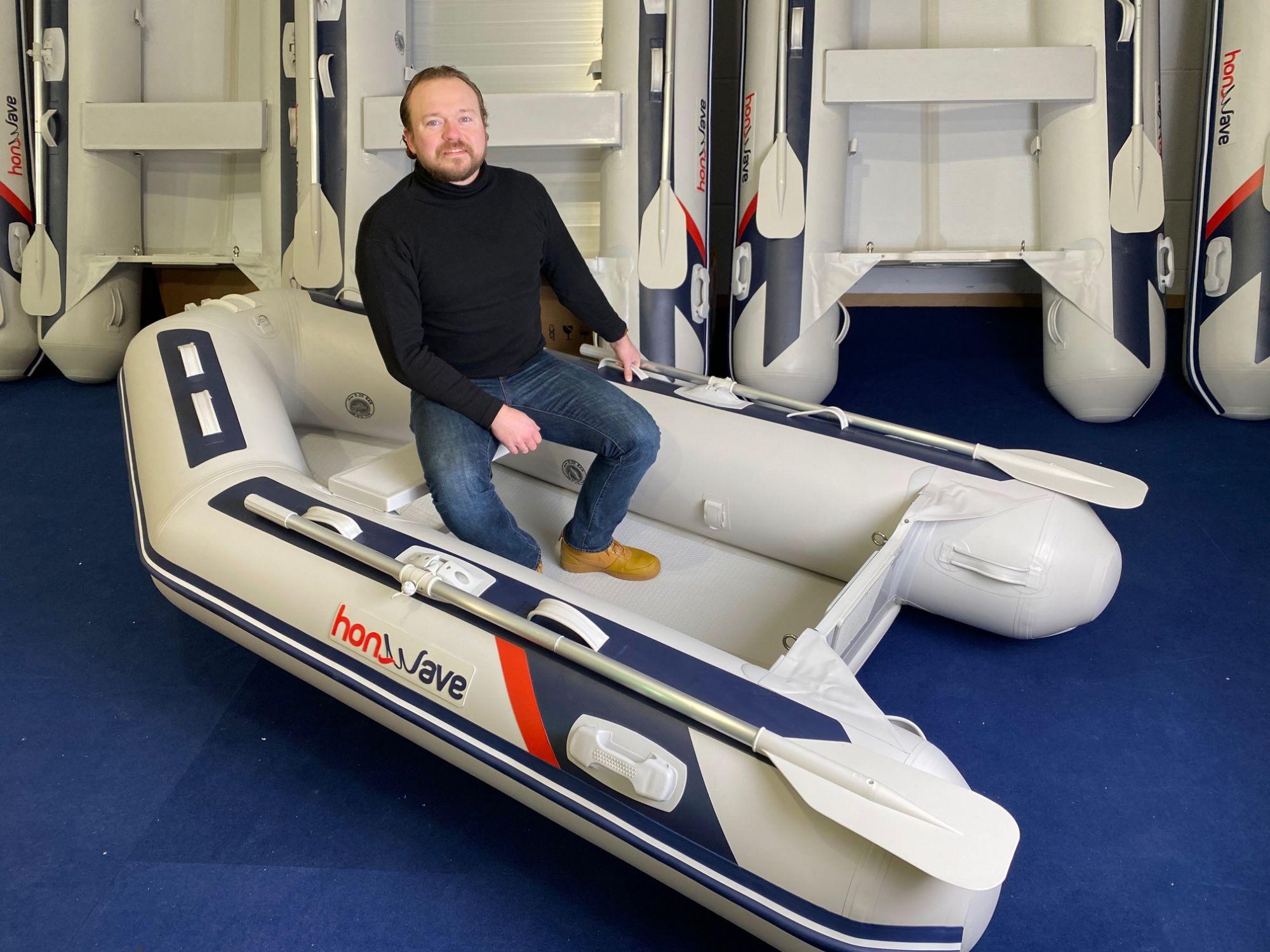 Honda Honwave T27 IE3 Schlauchboot Hochdruck-Boden Mod.2021