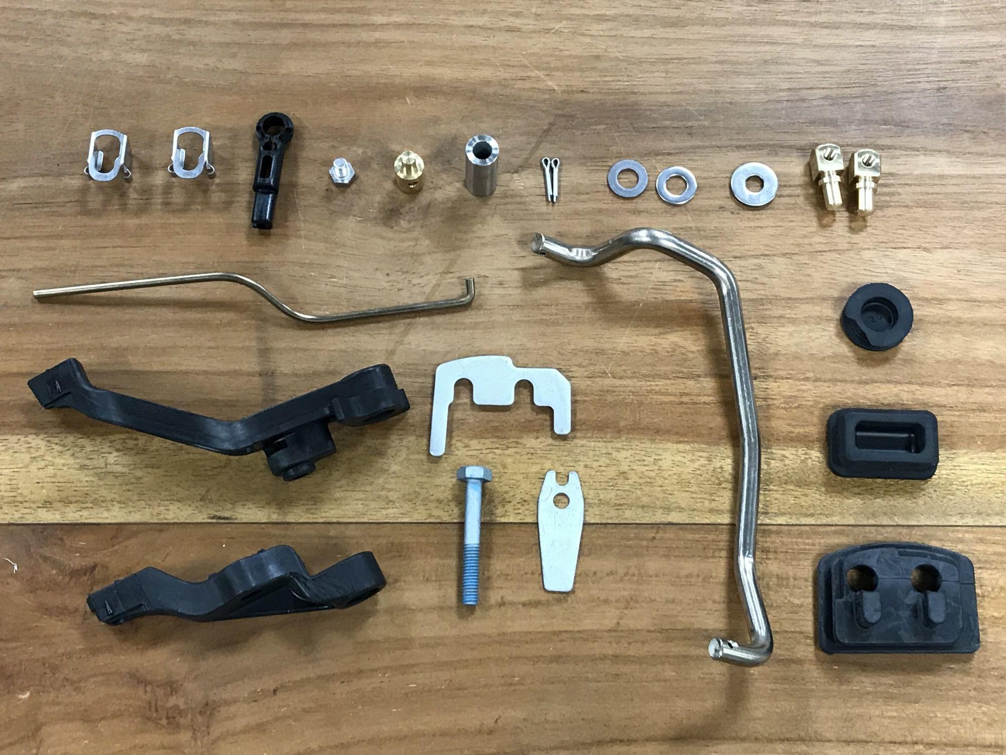 Ma-Sa Honda BF 15/20 SHU Umbau Bügellenkungsset für Schlauchboote inkl. Luftsitzbank für Luftböden *NO.3*