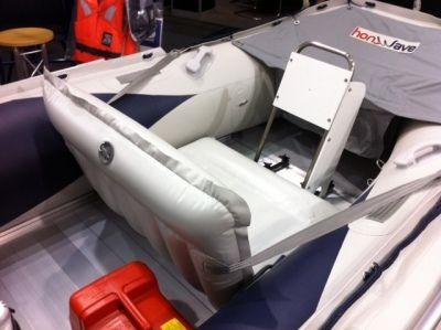 Allroundmarin Schlauchbootsitz Breite 110 cm.