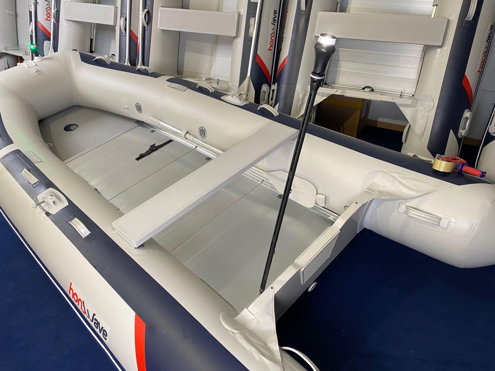 Railblaza LED Beleuchtungspaket Schlauchboot(Rundum+Stb/Bb Laterne)