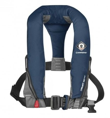 Crewsaver CrewFit 165N Sport Automatik + Lifebelt - blau
