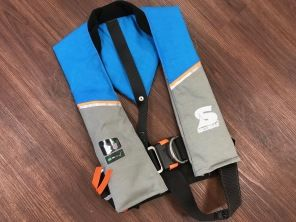 Secumar Ultra 170 Harness hawaiian ocean/hellgrau/orange
